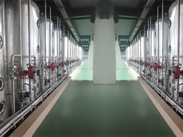 High fructose syrup processing machine