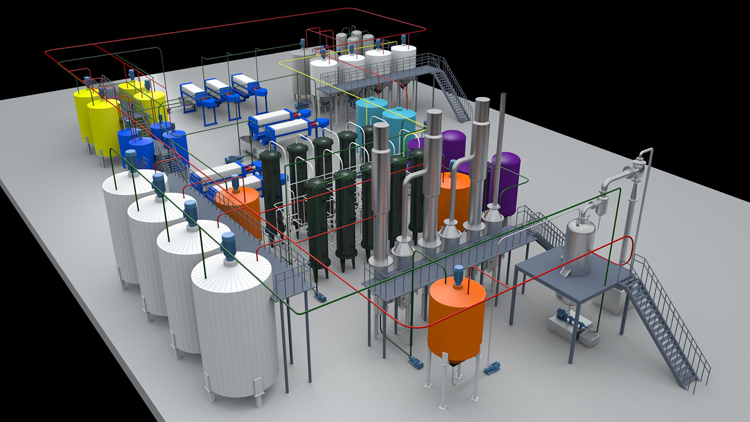 rice glucose syrup processing plant