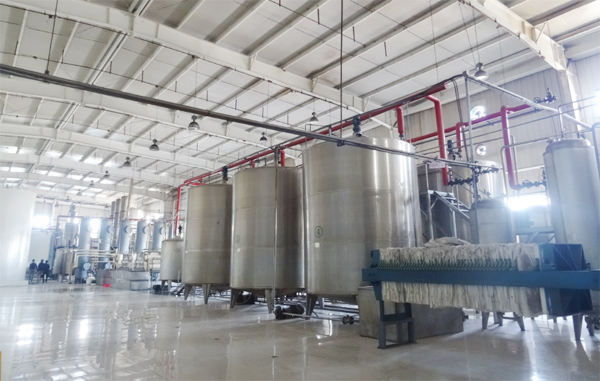 corn syrup production equipments